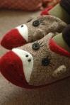 Amara's Monkey Slippers pic by Larry Thomas