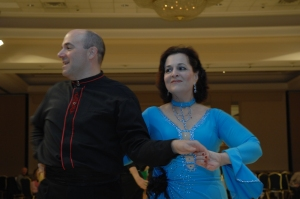 Amara Ann Bertorelli and David Hansel at Philly Comp by Larry Thomas